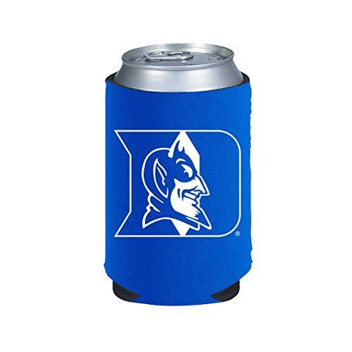 NCAA Duke Blue Devils Can Holder Blue Sports Fan Cold Beverage Koozies, Team Color, One Size