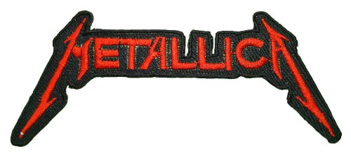 Metallica Logo Iron-on or Sew-on patch - best quality