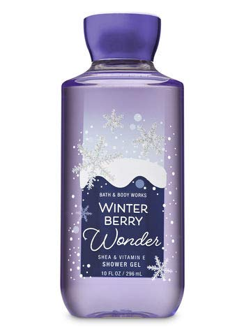 (Bath and Body Works WINTER BERRY WONDER Shower Gel 10 Fluid Ounce (2018)