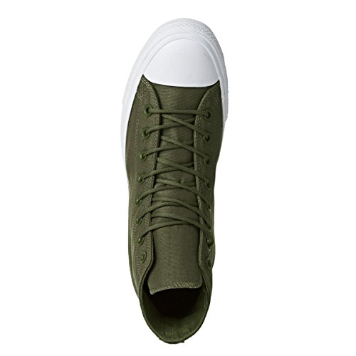 Converse Mens Ct Alle Ster Cordura Trainers, Groen, 9 Us