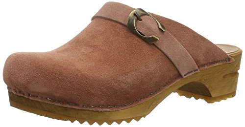 Sanita Damen hedi Open Clogs Pink (Rose)