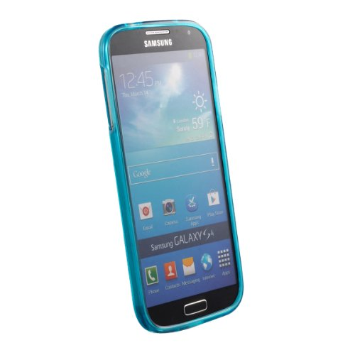 Galaxy S4 Case, Cruzerlite Android Clone Army TPU Case Compatible for Samsung Galaxy S4 - Teal