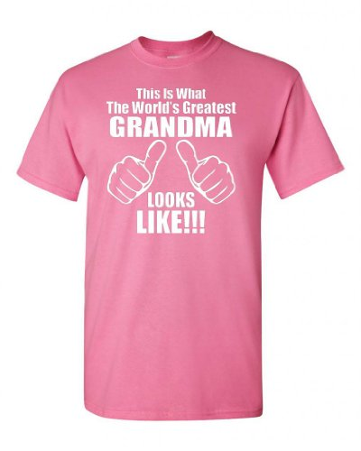 City Shirts This Is What The World's Greatest Grandma Looks Like Adult T-shirt Tee