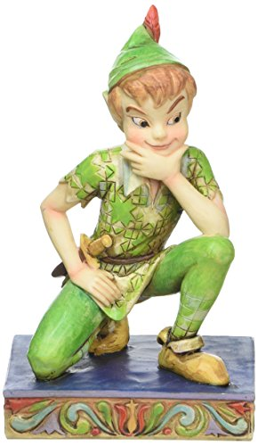 Disney Traditions by Jim Shore Peter Pan Personality Pose Stone Resin Figurine, 4
