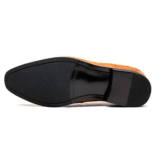 CHAMARIPA Mocassins Home Ascenseur Chaussures Hentant Chaussures Suede - Plat 7 CM - H72D16K301Didden Hauteur Augm