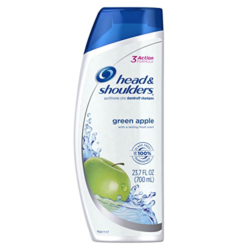 Head Shoulders Anti Dandruff Shampoo (Head and Shoulders Green Apple Anti-Dandruff Shampoo 23.7 Fl Oz)