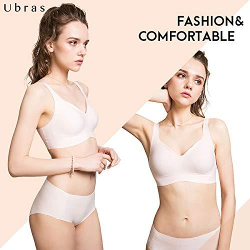 Comodidad Brasieres Mujeres Blanco 3 1 Sostén Corriendo Costura Tramo Deportivos Pack Sin De O Yoga Top Crop Chaleco Unbrand 4xF7nvn