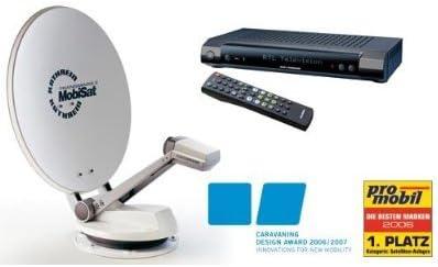 360 ° – Antena parabólica y completo con receptor de ...