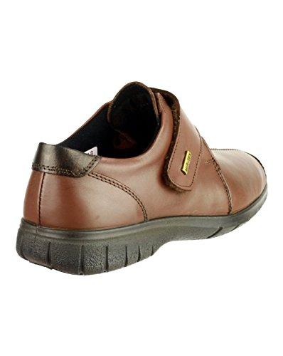 Femme Chaussures Cranham Cotswold Marron Cuir En OzRxpqw