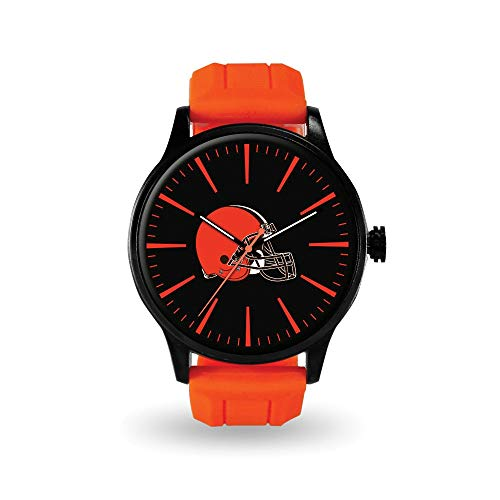Q Gold Gifts Watches NFL Cleveland Browns Cheer Watch by Rico Industries