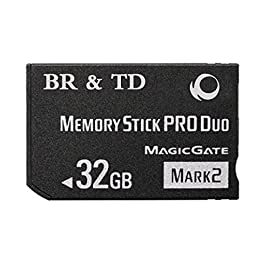 BR & TD 32GB PRO Duo (Mark 2) Memory Stick for PSP 13 Memory Stick PRO-HG Duo HX is ideal for high-speed data transfer and Compatible with MagicGate copyright protection technology Compatible Systems: PSP 1000 system, PSP 2000 system, PSP 3000 system