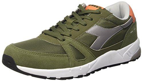 Diadora Run 90, Zapatillas de Estar por Casa para Hombre VERDE OLIVINA