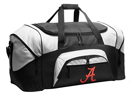 Large Alabama Duffel Bag University of Alabama Gym Bags or Suitcase by Broad Bay