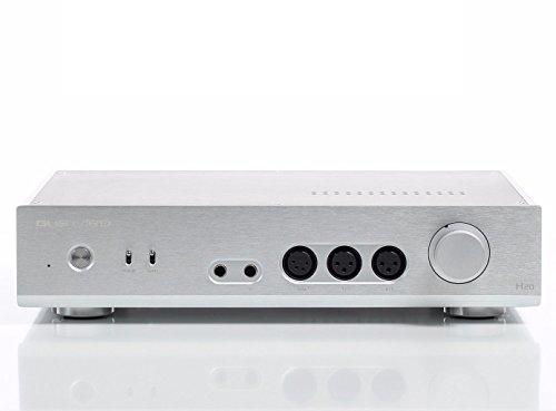 Class Headphone Amplifier - Gustard H20 Opamp Dual LM49720 Full Balanced Class A Headphone Amplifier Pre Amplifier (Silver)