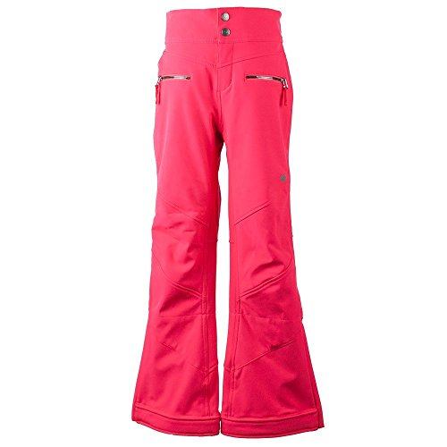 Obermeyer Kids Girl's Jolie Softshell Pants (Little Kids/Big Kids) Popstar Pink Medium by Obermeyer Kids