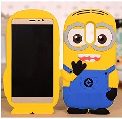 brand new 27780 37071 Xiaomi Redmi Note 5 Back Cover - RGSG - 3D Minion Soft: Amazon.in ...