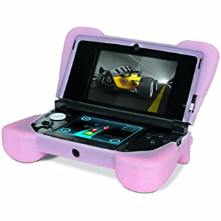 """Comfort Grip for Original 3DS (Not the """"NEW"""" version) - Silicone Protective Cover Gives Your 3DS Armor - (Pink) (B005GRBC90) 