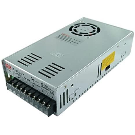 sports shoes 2bb8a dc931 Mean Well NES-350-24 24V 350 Watt UL Switching Power Supply 120 Volt