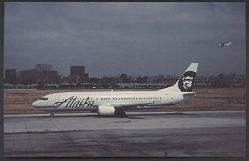 Alaska Airlines Boeing B-737 John Wayne Airport Orange County Airplane - Wayne Airport John