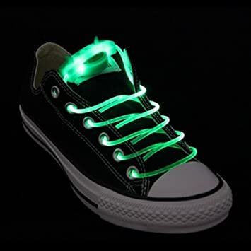 el más nuevo 55b99 d3bee AGPTEK Cordones Luminosos para Zapatillas Luminosas ...