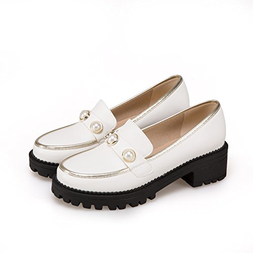 Show Shine Womens Casual Slide Loafers