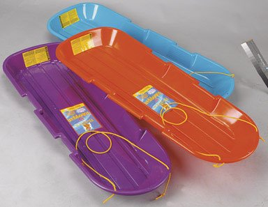 Emsco Group 1140/123 Sno Twin Toboggan Assorted Colors 12 Piece by Emsco