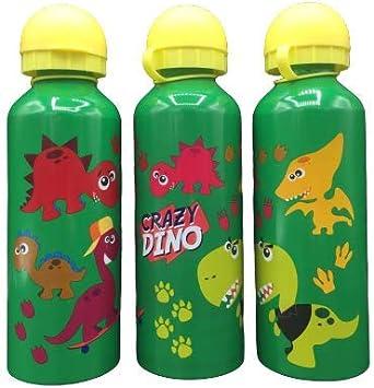 ML Una Botella de Agua de Aluminio, cantimplora térmica a Prueba de Fugas sin BPA para Levar a la Escuela y Deportes el Termo 500ml para niños y niñas ...