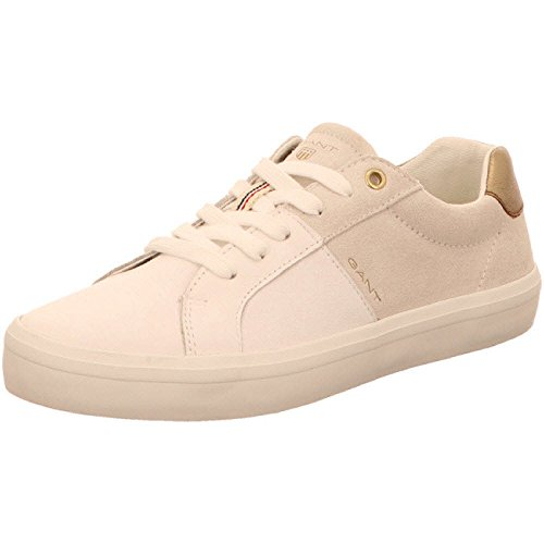 Gant Damen Mary Sneaker Luminoso Bianco / Panna