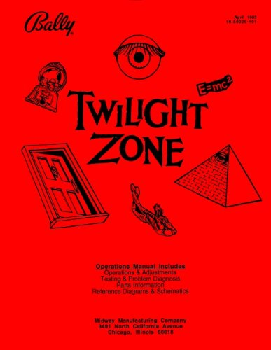 Twilight Zone Pinball - Twilight Zone Pinball Service & Repair Manual