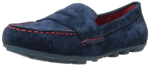 Navy Slip Women's MOUNTAIN On Skipper Loafer WHITE xCqg0Yww
