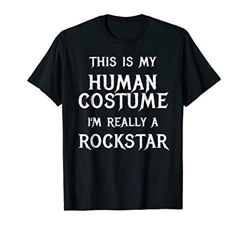 I'm Really a Rockstar Shirt Easy Halloween Costume -