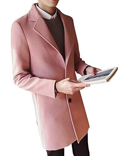 Manteaux Casual Manteau Décontracté Parka Pink Coat Slim Élégant rxeBWdCo