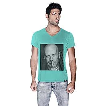 Creo Bruce Willis T-Shirt For Men - Xl, Green