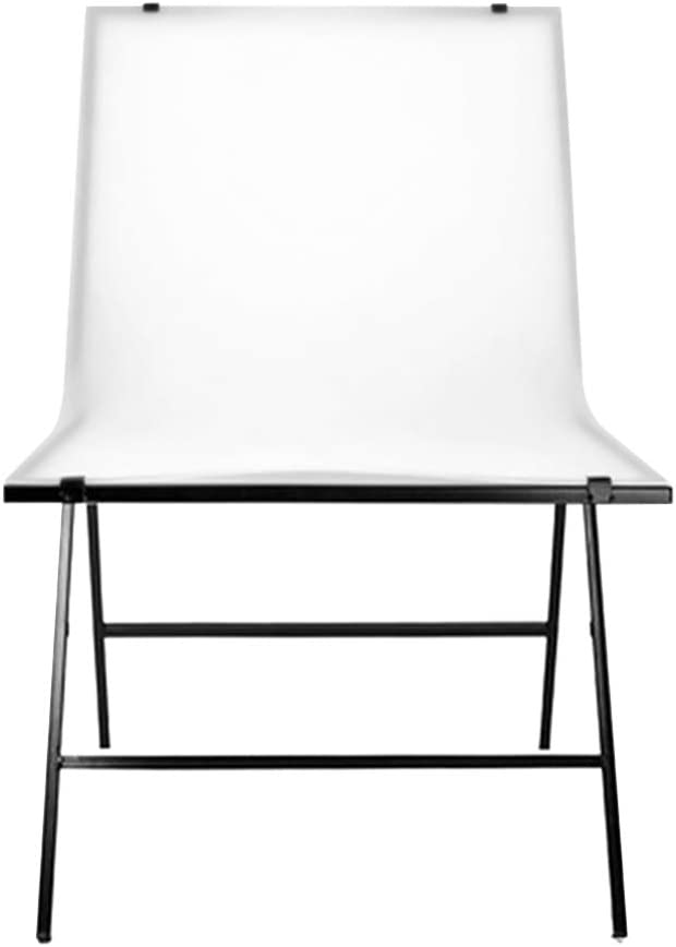 Vbestlife 60100cm Simple Photo Studio,Studio Shooting Table Still Life Shoot Chair Simple Easy Set Up Background Area Large Studio Strong Load-Bearing and Safe