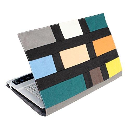 Elegante bolsa de la computadora portátil de la lona de la manga