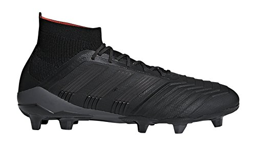 Black Real adidas Men's Predator Firm Soccer 18 Ground Coral Core Black Cleat 1 Core 7xqS6w7rP