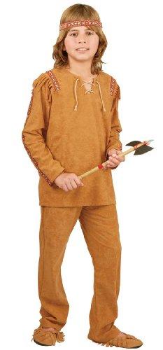 Ameri (Indian Warrior Boy Costume)