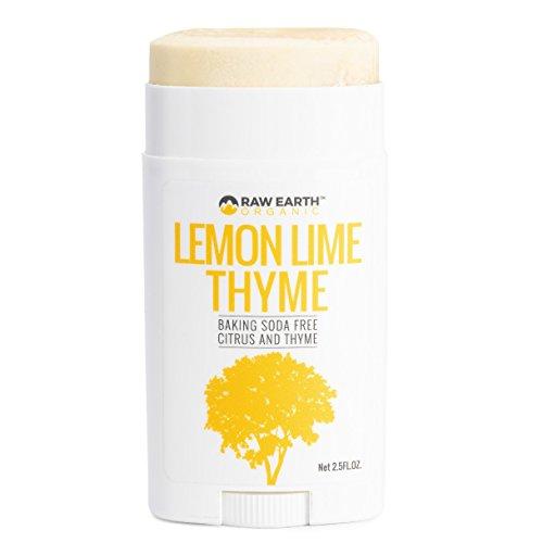 Raw Earth Organic All Natural Vegan Magnesium Deodorant - Baking Soda & Aluminum Free - Lemon / Lime / Thyme (2.5oz) by Raw Earth Organic (Image #3)