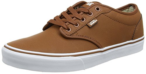 Vans Atwood Seasonal, Sneaker Uomo Marrone (Leather)