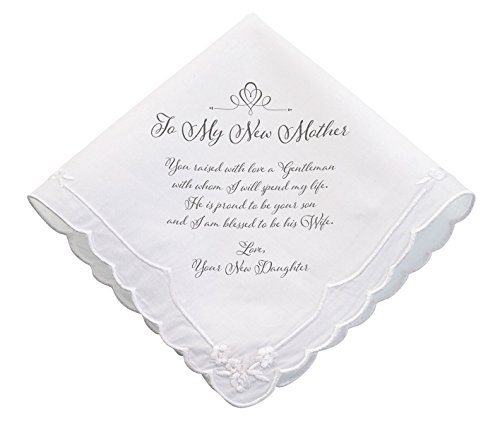 Lillian Rose New Mother verse Wedding Gift Hankie (Best Man Gift Ideas From Groom)