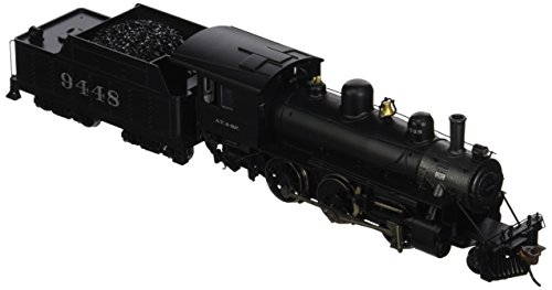 Bachmann Industries Alco 2-6-0 DCC Sound Value Equipped Locomotive - ATSF #9448 - (1:87 HO Scale) (Ho Whistle Scale)