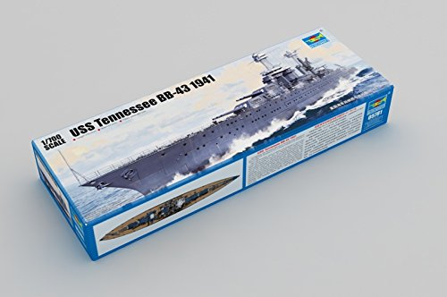 (Trumpeter 1:700 - USS Tennessee BB-43)