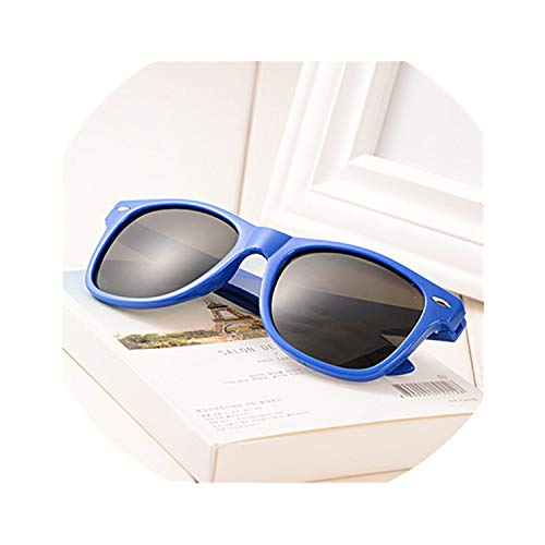 b587ec629 Vintage Sunglasses Women Men Driving Sun Glasses Candy Color Lens Plasic  Eyewear Fashion,Black,