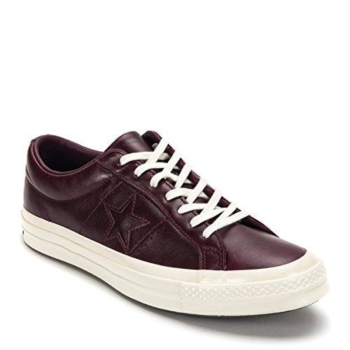 Converse Een Ster Ox Sneakers 157803c (us Mens 10.5, Red Ochre)