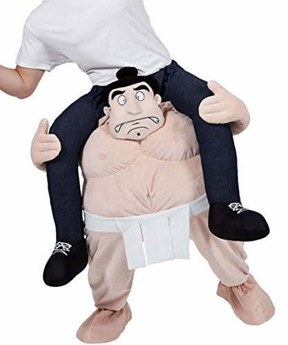 Carry Me Ride on Riding Shoulder Adult Costume Easter Mascot Pants-Sumo - Mascot Costumes