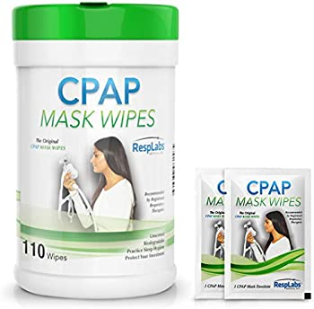 110-Count RespLabs Medical CPAP Mask Cleaning Wipes