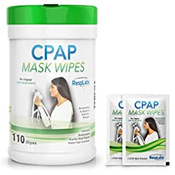 RespLabs Medical CPAP Mask Cleaning Wipe...