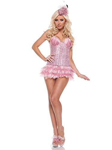 Flamingo Sexy Costumes (Women's Sexy Flamingo Deluxe Costume MEDIUM)