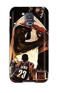 Sarah deas's Shop 4070745K850146513 legend nba lebron james miami heat cleveland cavaliers basketball NBA Sports & Colleges colorful Samsung Galaxy S5 cases