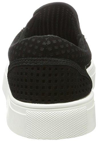 Bianco Herren Cutout Mens Loafer 60-71495 Slipper Schwarz (Black)